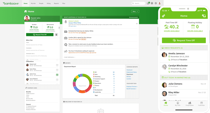 BambooHR could be the ideal HR tool for your tech stack