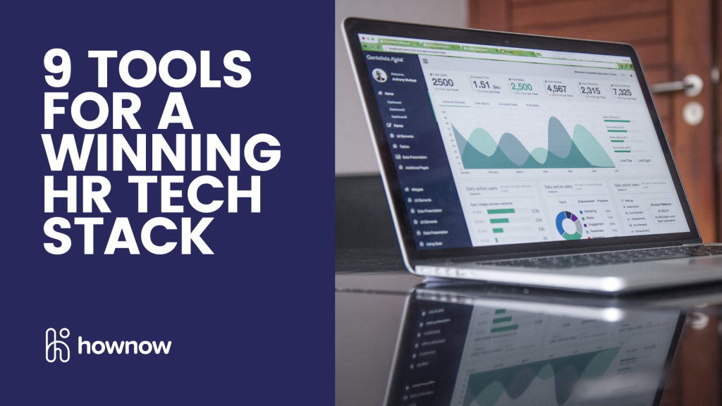 9 tools for a winning HR tech stack