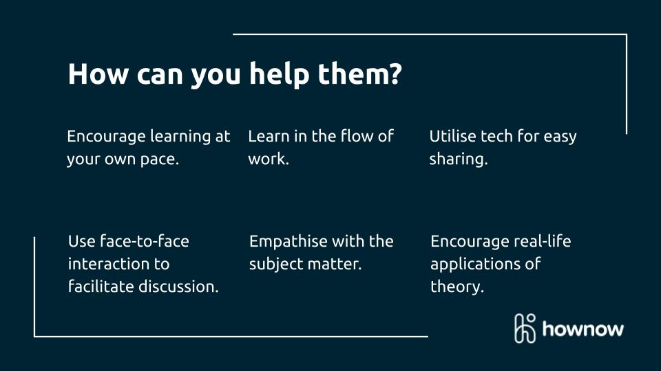 Tips for creating blended and social learning