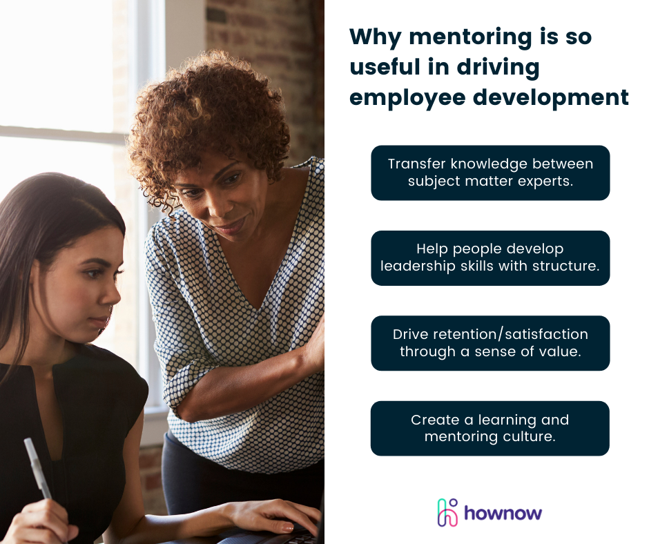 Why mentoring is so useful in driving employee development